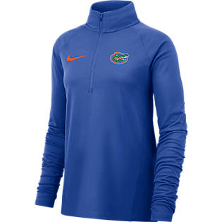 University Of Florida Gators Women S Dri Fit Long Sleeve Half Zip Top University Of Florida Long sleeves are a big plus on cooler days. www bkstr com