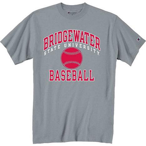 Bridgewater State College Baseball T Shirt Bridgewater