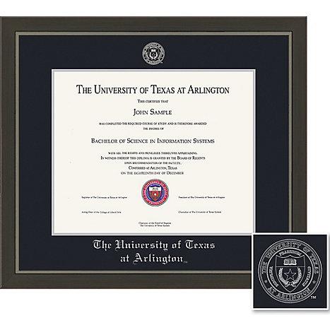 University of Texas at Arlington 11\'\' x 14\'\' Metro Diploma Frame ...