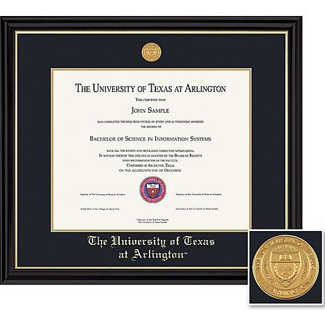 University of Texas at Arlington 11 x 14 in. Coronado Diploma Frame ...