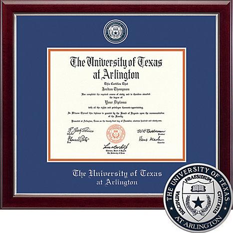 University of Texas at Arlington Masterpiece Diploma Frame ...