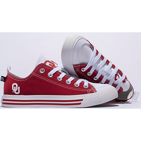 da03a6dcd Product  University of Oklahoma Low Top Canvas Shoes