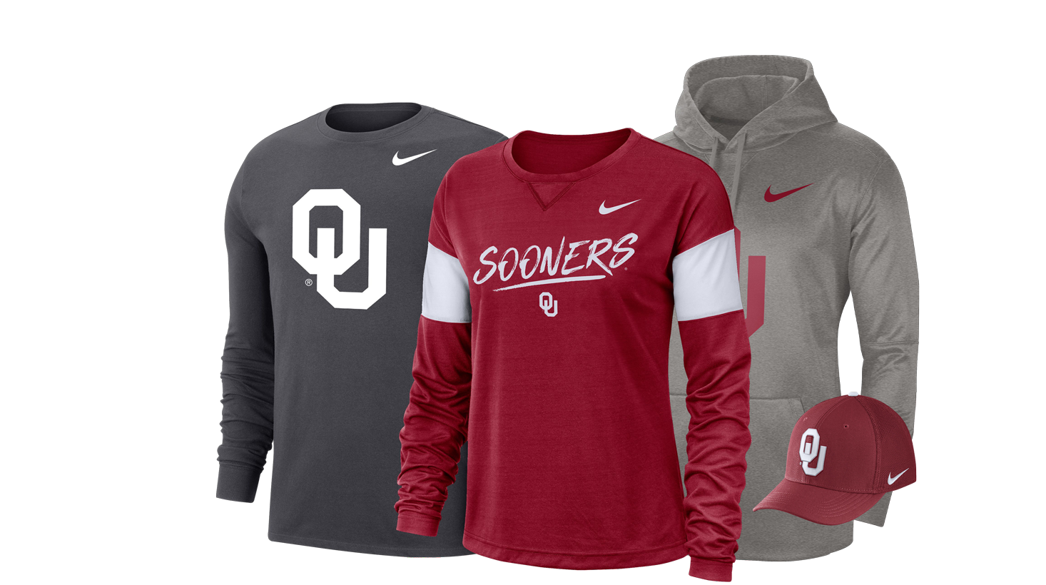 online store 76337 f8e84 Oklahoma Sooners Apparel | OU Gear, Merchandise & Gifts