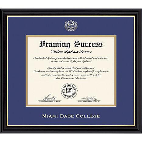 Coronado\' Diploma Frame - ONLINE ONLY | Miami Dade College