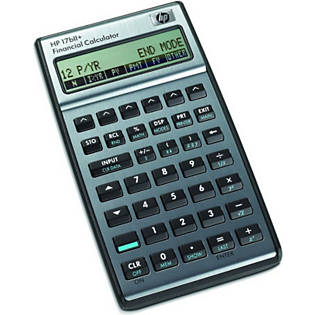 Financial Calculator for sale online HP 17bII