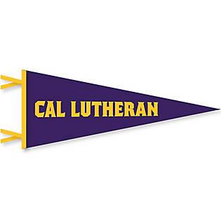 "California Lutheran Kingsmen 12/"" X 30/"" College Pennant"
