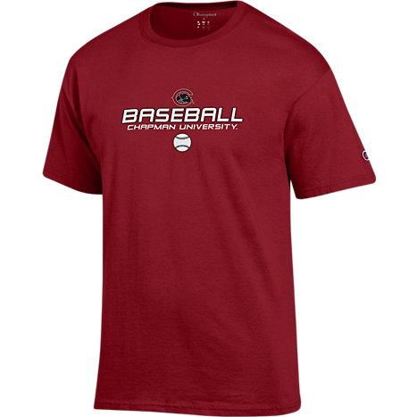 Chapman University Panthers Baseball T Shirt Chapman
