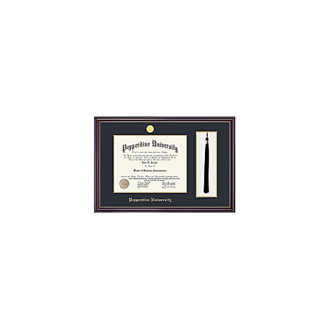 Windsor Diploma Frame With Tassel Holder Pepperdine University