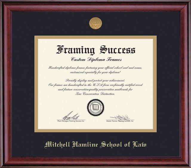 Mitchell Hamline School Of Law 11 X 14 Classic Diploma Frame Mitchell Hamline School Of Law