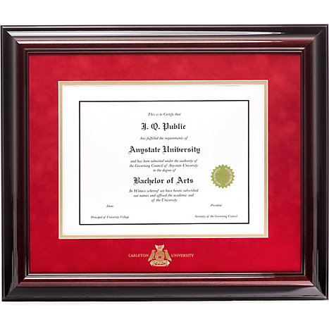 Carleton University Executive Diploma Frame | Carleton University