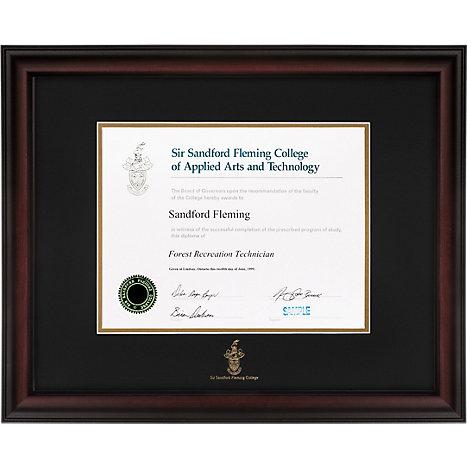 Sir Sandford Fleming College Studio Diploma Frame | Fleming College ...