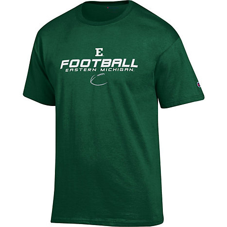 Eastern michigan university eagles football t shirt for Eagles football t shirts