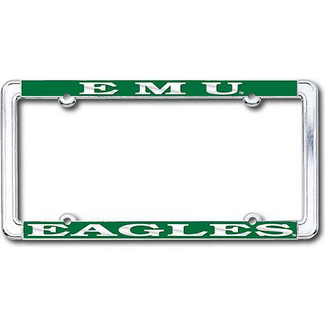 Eastern Michigan University Eagles License Plate Frame   Eastern ...