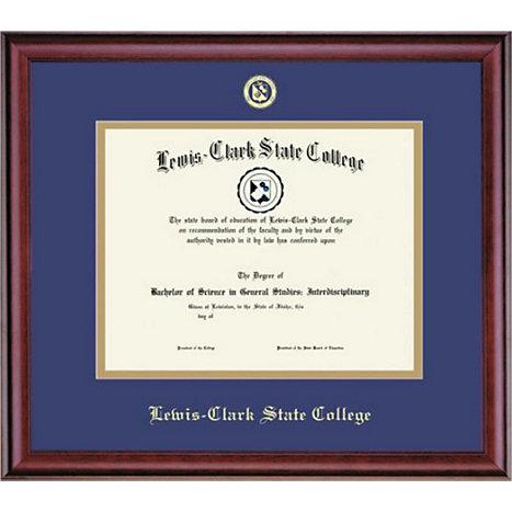 Lewis-Clark State College 8.5x11 Classic Diploma Frame   Lewis-Clark ...