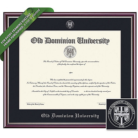Old Dominion University 11\'\' x 14\'\' Value Price Academic Diploma ...