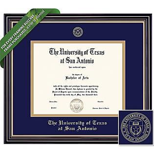 University Of Texas San Antonio 11 X 14 Prestige Diploma Frame University Of Texas San Antonio