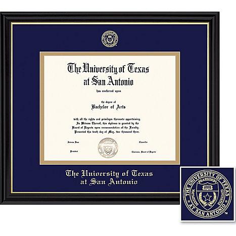University of Texas San Antonio 11 x 14 in. Coronado Diploma Frame ...
