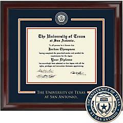 University Of Texas San Antonio Diploma Frames